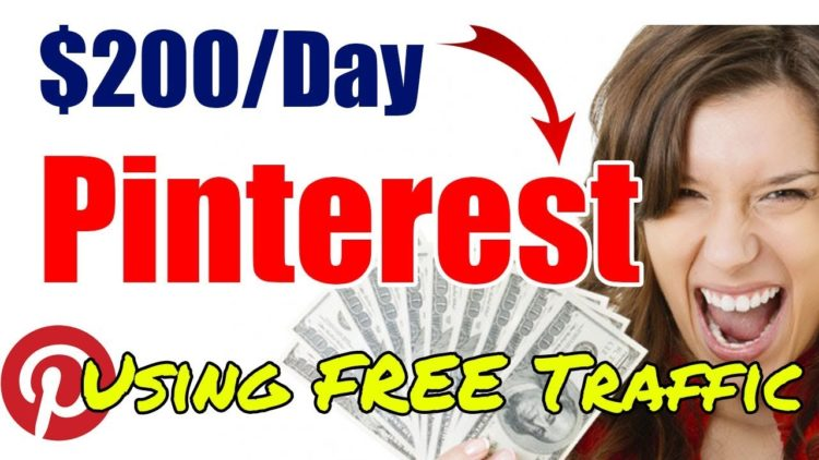 ➤➤➤ 3 Steps How I Make $200/Day With Free Pinterest Traffic